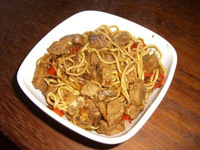 Quorn beef style teryaki