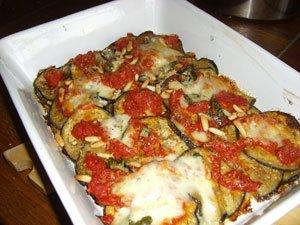 Sicilian aubergine parmigiana