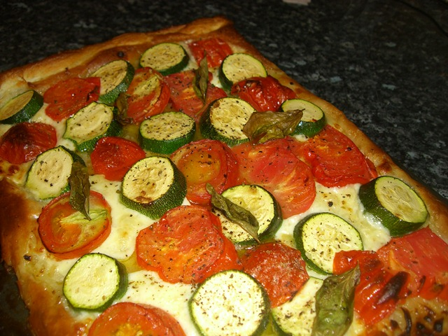 courgette and tomato tart planet veggie