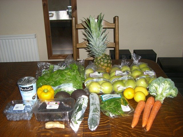 Supplies needed for the Jason Vale 3 Day Detox