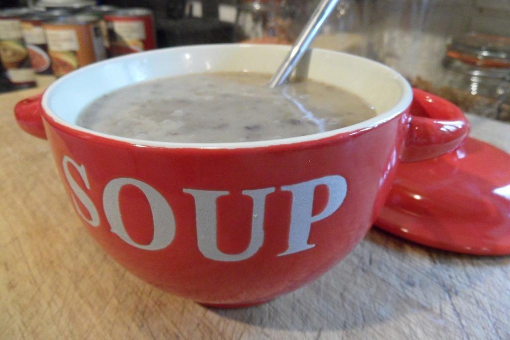 Tremendous Amys Kitchen Cream Of Mushroom Soup Planet Veggie Interior Design Ideas Inamawefileorg