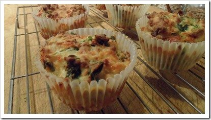 cheese-and-spinach-muffins