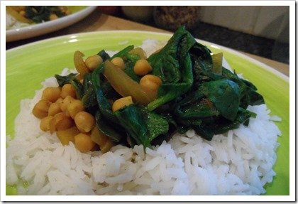 vegan-chickpea-and-spinach-curry