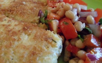 Tofu Escalopes with Salsa