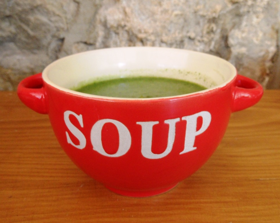 Spinach And Garbanzo Soup Recipe — Dishmaps
