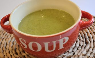 Vegan Parsnip and Kale Soup