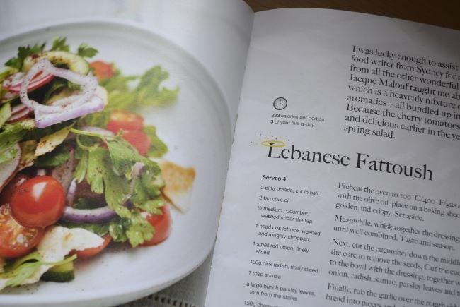 Lebanese Fattoush recipe