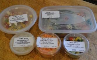 Bodychef salad selection