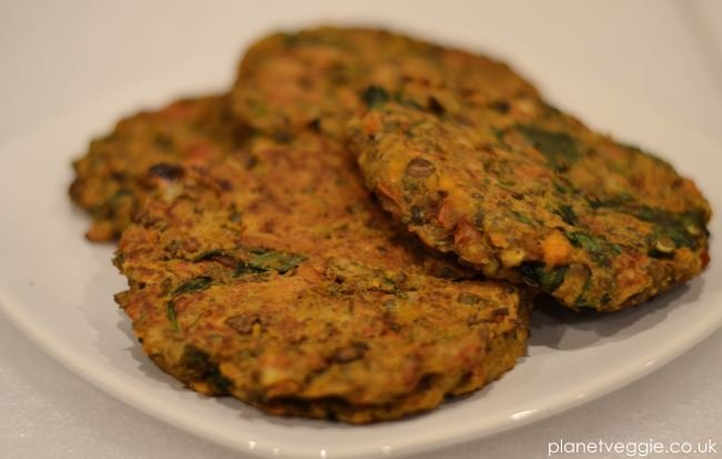 Recipe: Sweet Potato Burgers With Lentils And Spinach | Planet Veggie