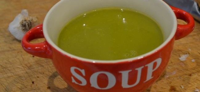 Soup maker spinach and carrot soup