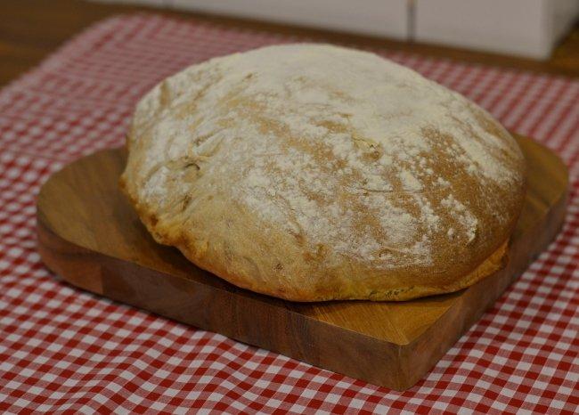 Bread machine sundried tomato ciabatta
