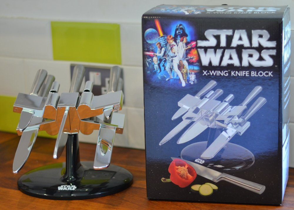Official Star Wars X-Wing Knife Block