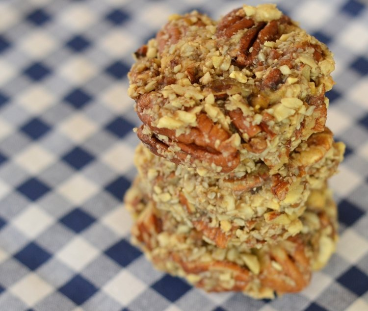 Ani Phyo's raw vegan banana bread biscuits