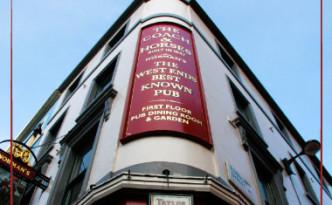 Norman's Coach & Horses, Soho - London's first vegetarian pub