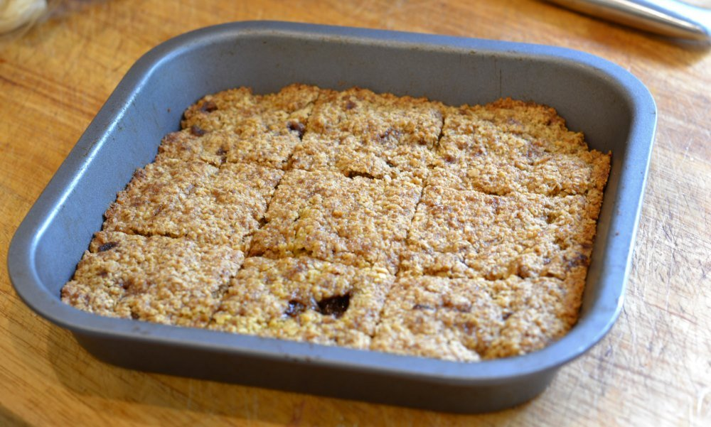 Vegan flapjacks