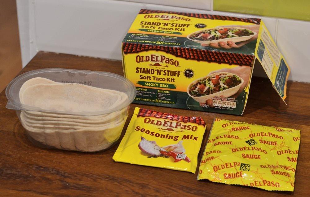 Old El Paso Stand 'n' Stuff Soft Taco Kit