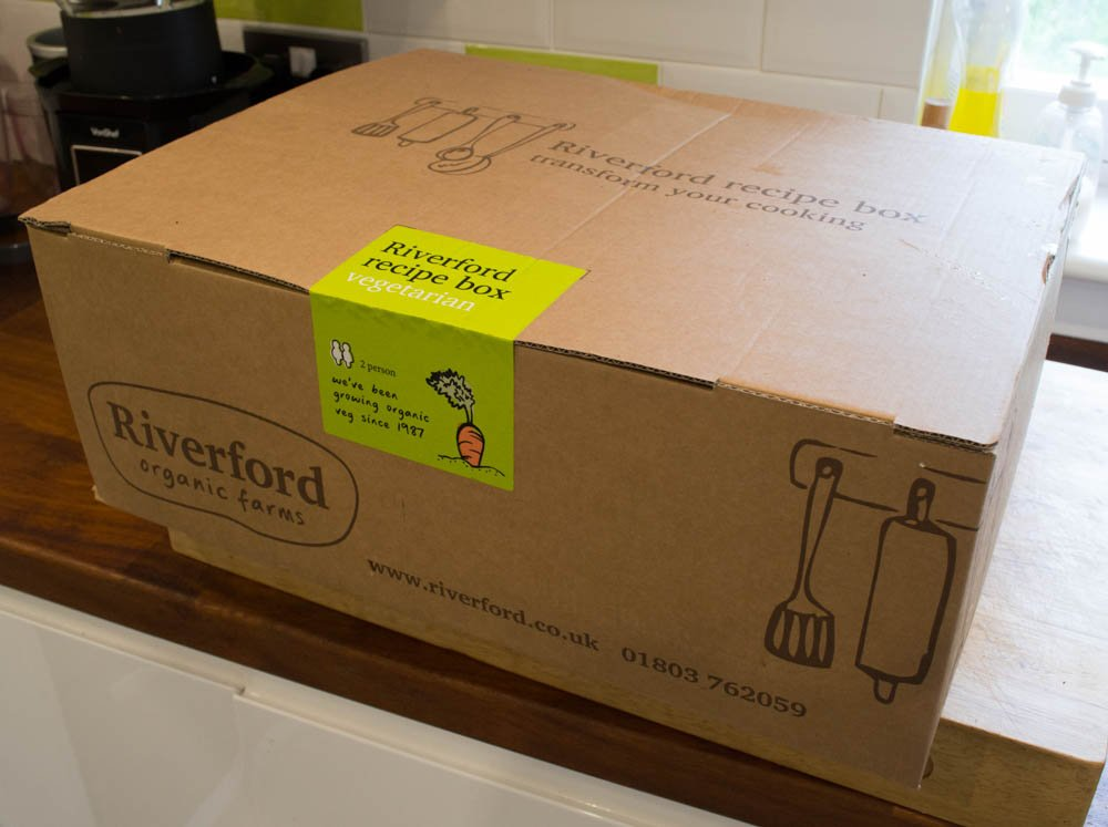 Riverford vegetaran recipe box