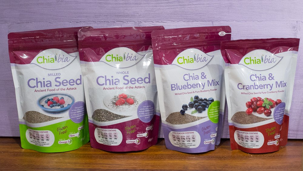The Chia Bia chia seed range