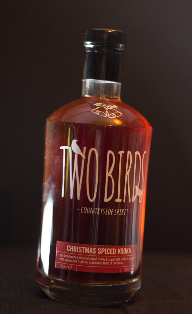 Two Birds Christmas Spiced Vodka