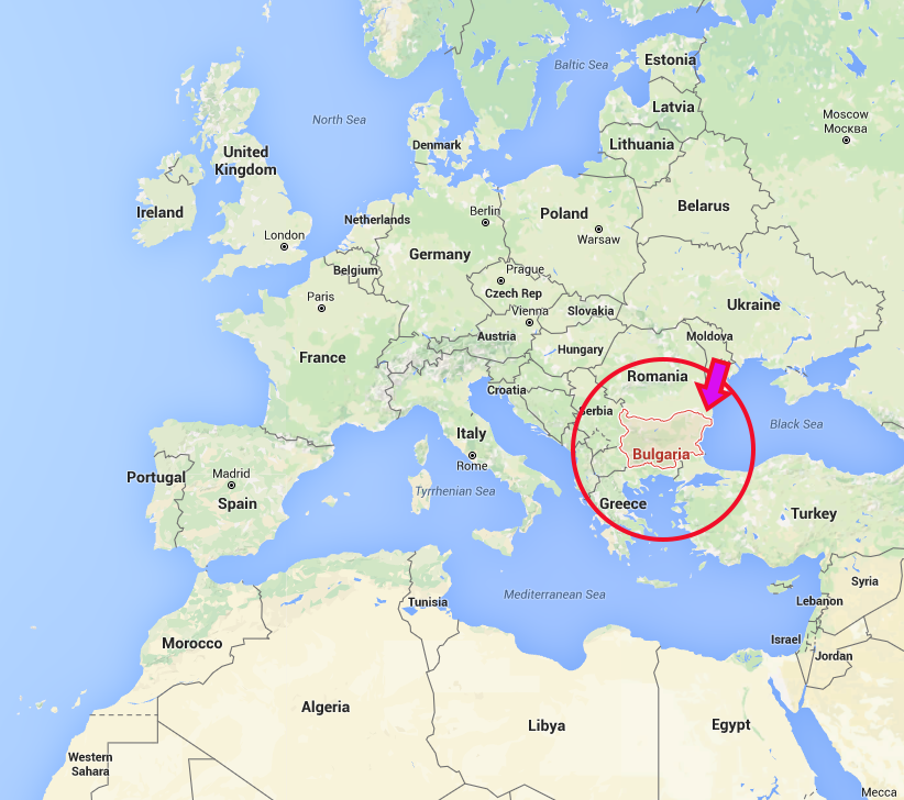 Location Of Bulgaria On World Map Pictures to Pin on Pinterest PinsDaddy