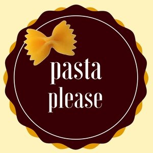 pasta please linky