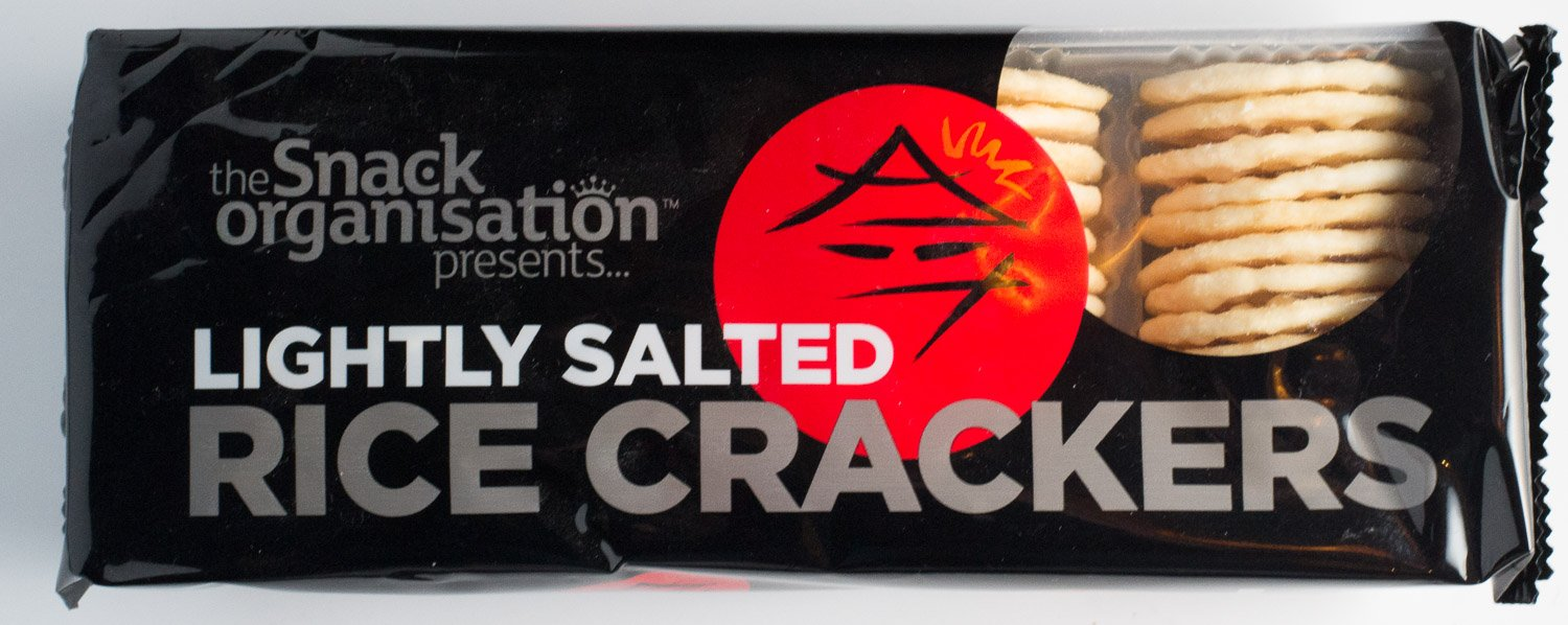 Snack Organisation Lightly Salted Rice Crakcers