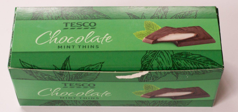 Tesco Mint Thins – accidentally vegan
