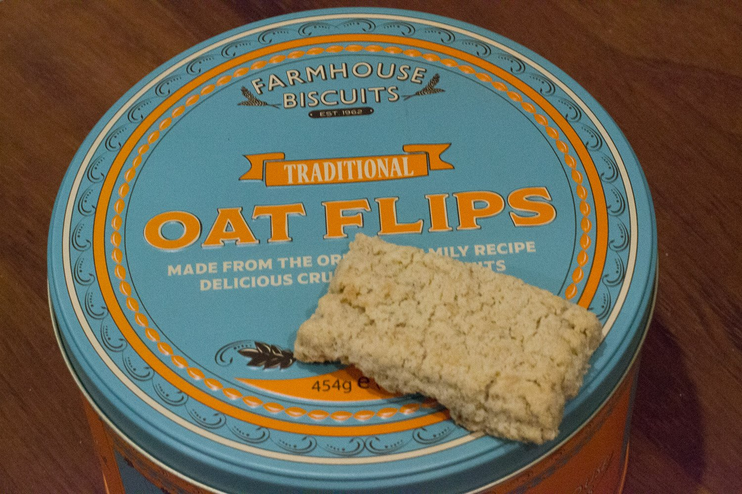 These Oat Flips are vegan