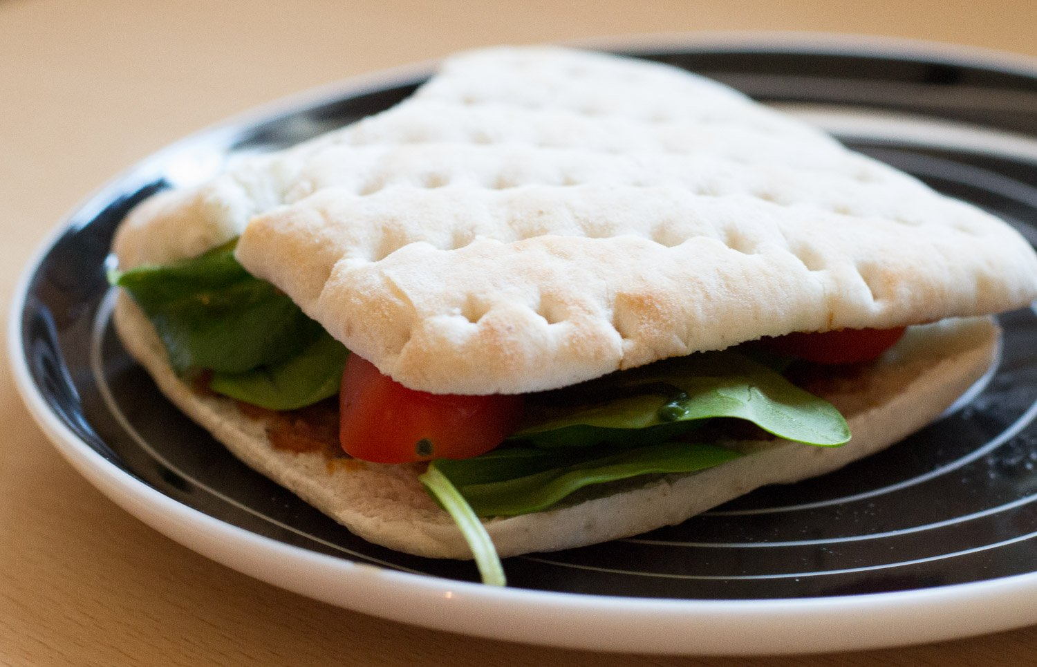 Warburtons Thin vegan sandwich