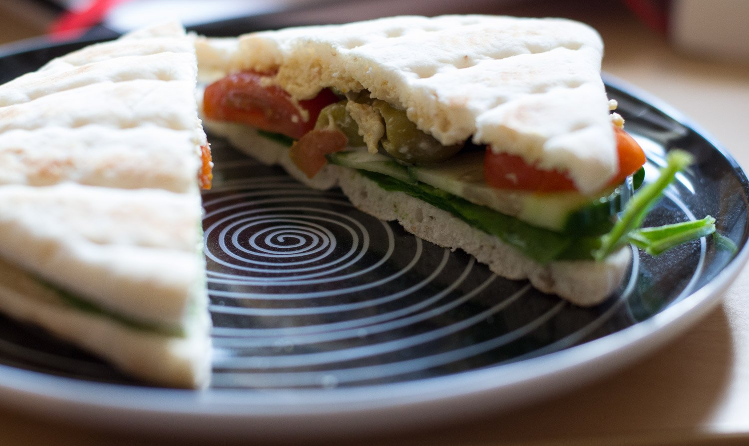 Warburtons Thin salad sandwich