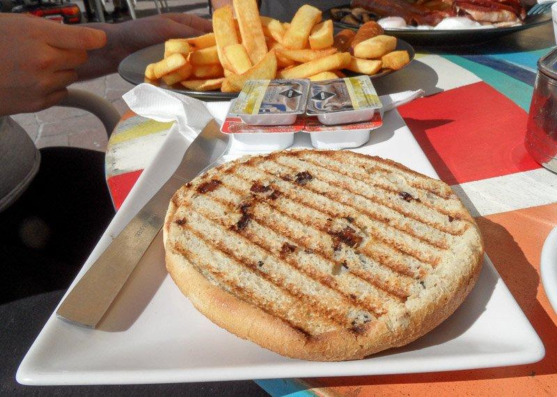 Not a vegan teacake in Tenerife