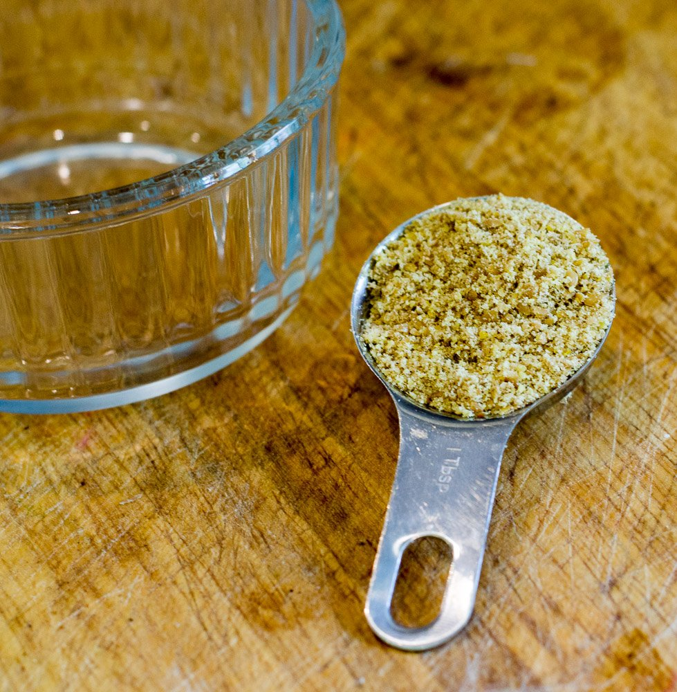 Flaxseed to make a flax egg