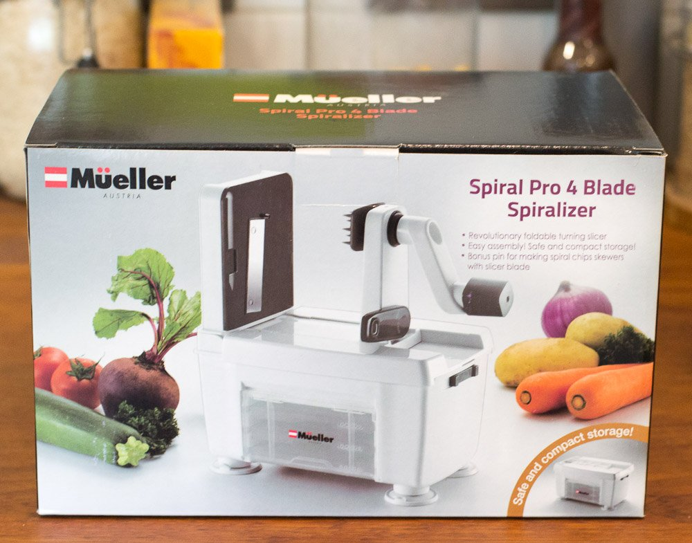 Mueller Spiral Pro 4 Blade Spiralizer