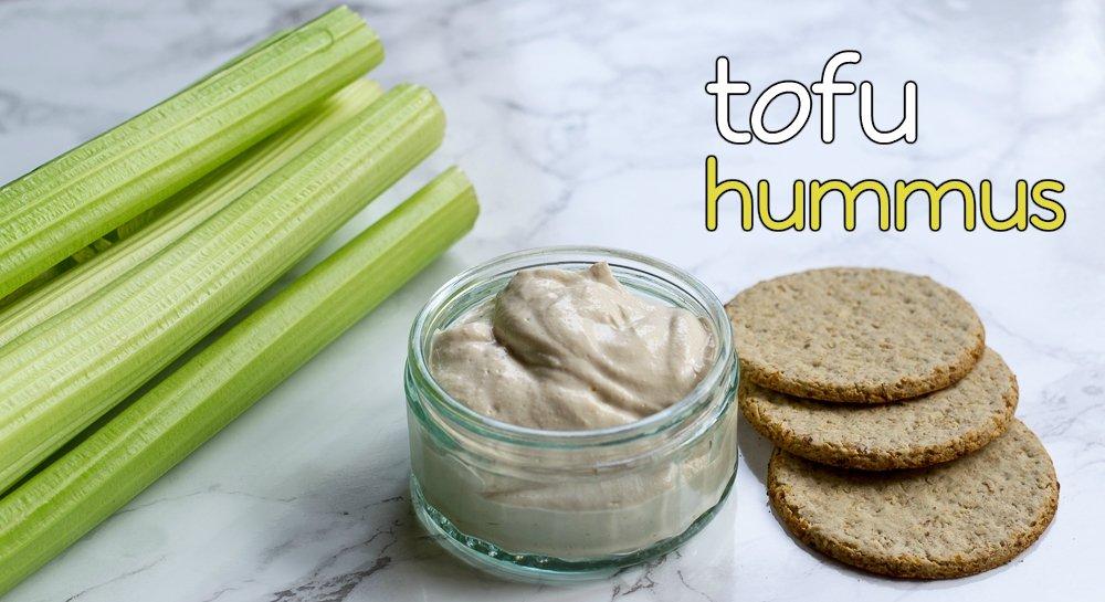 vegan silken tofu hummus