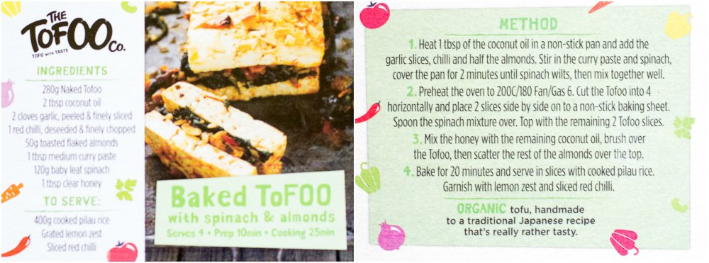 Tofoo recipe card