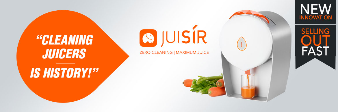 Juisir - self-cleaning juicer