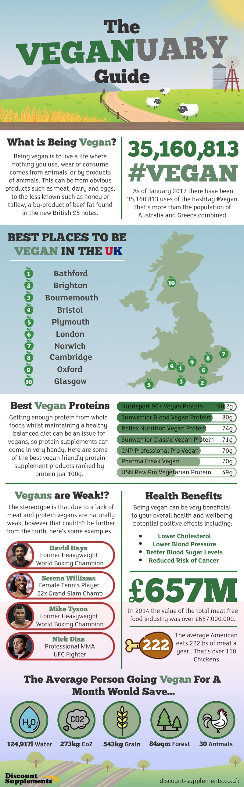 Veganuary guide infographic