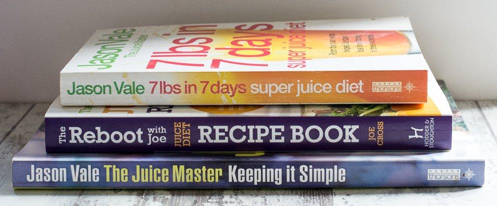 Jason Vale and Joe Cross books