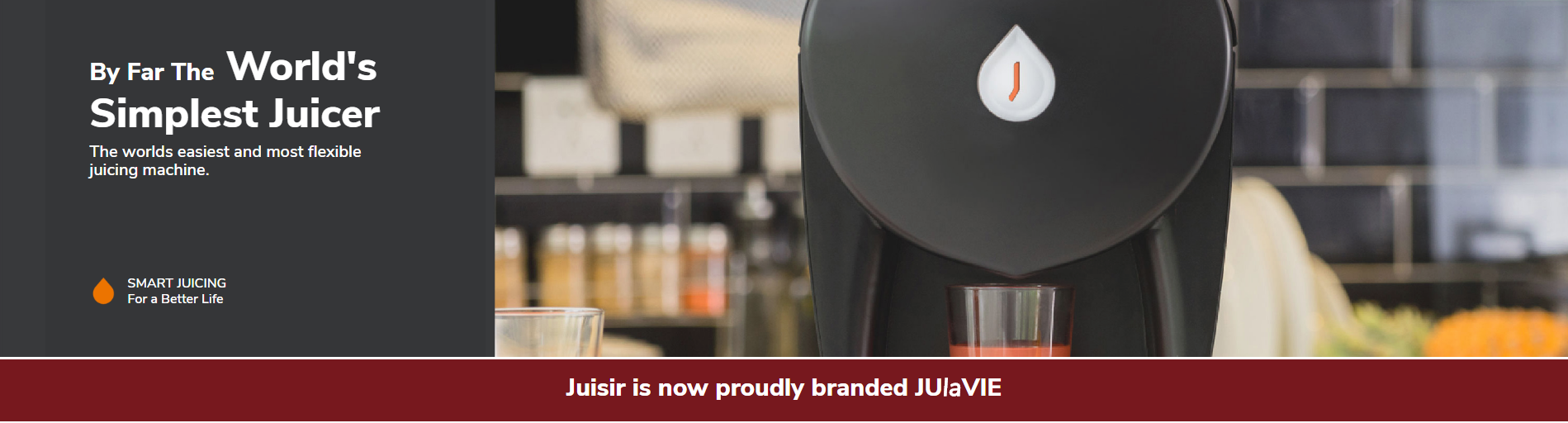 JUlaVie - the self-cleaning juicer