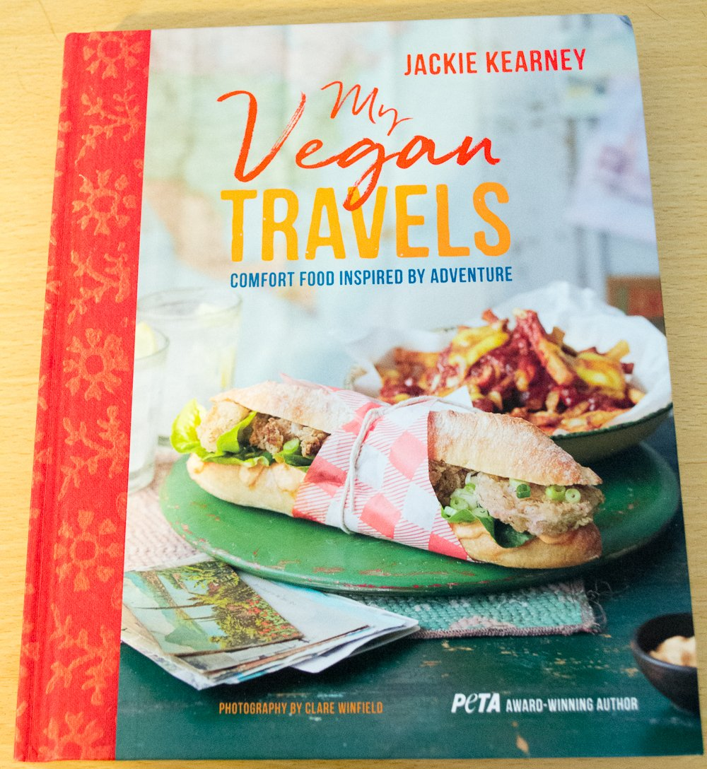 My Vegan Travels by Jackie Kearney