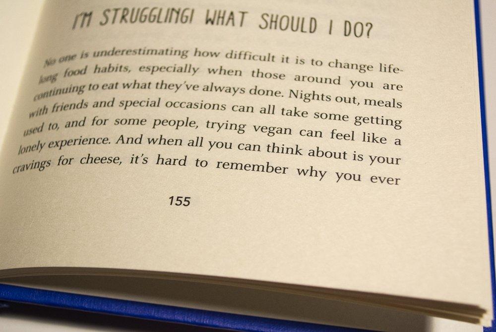 Veganuary book - How To Go Vegan - excerpt