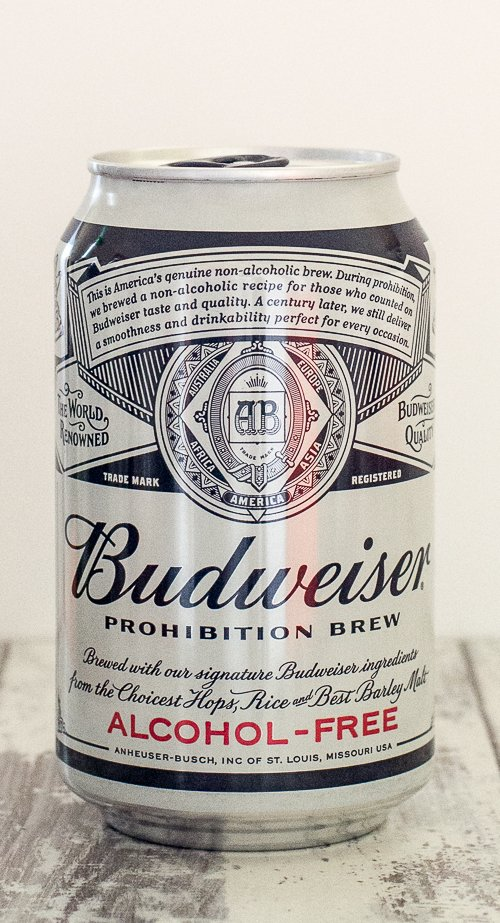 Budweiser Prohibition alcohol-free beer