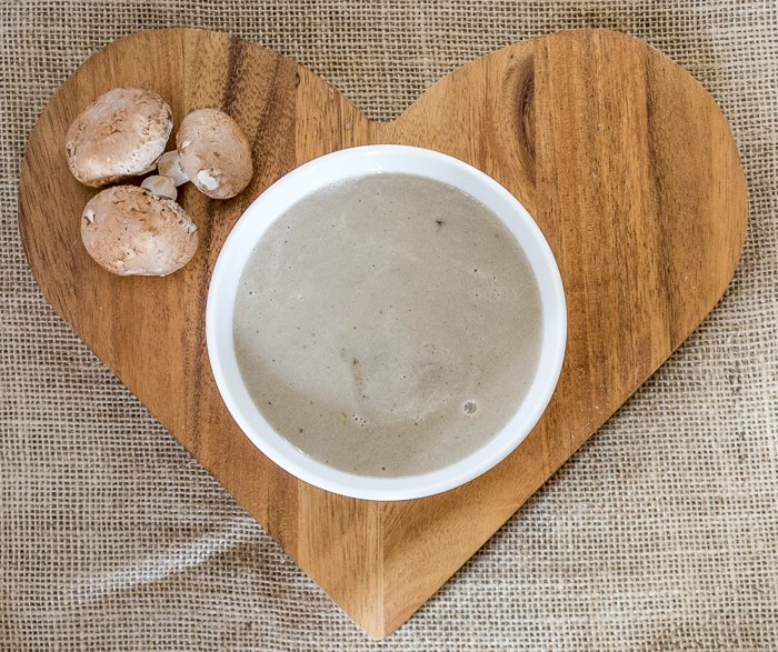 quick and easy vegan mushroom soup