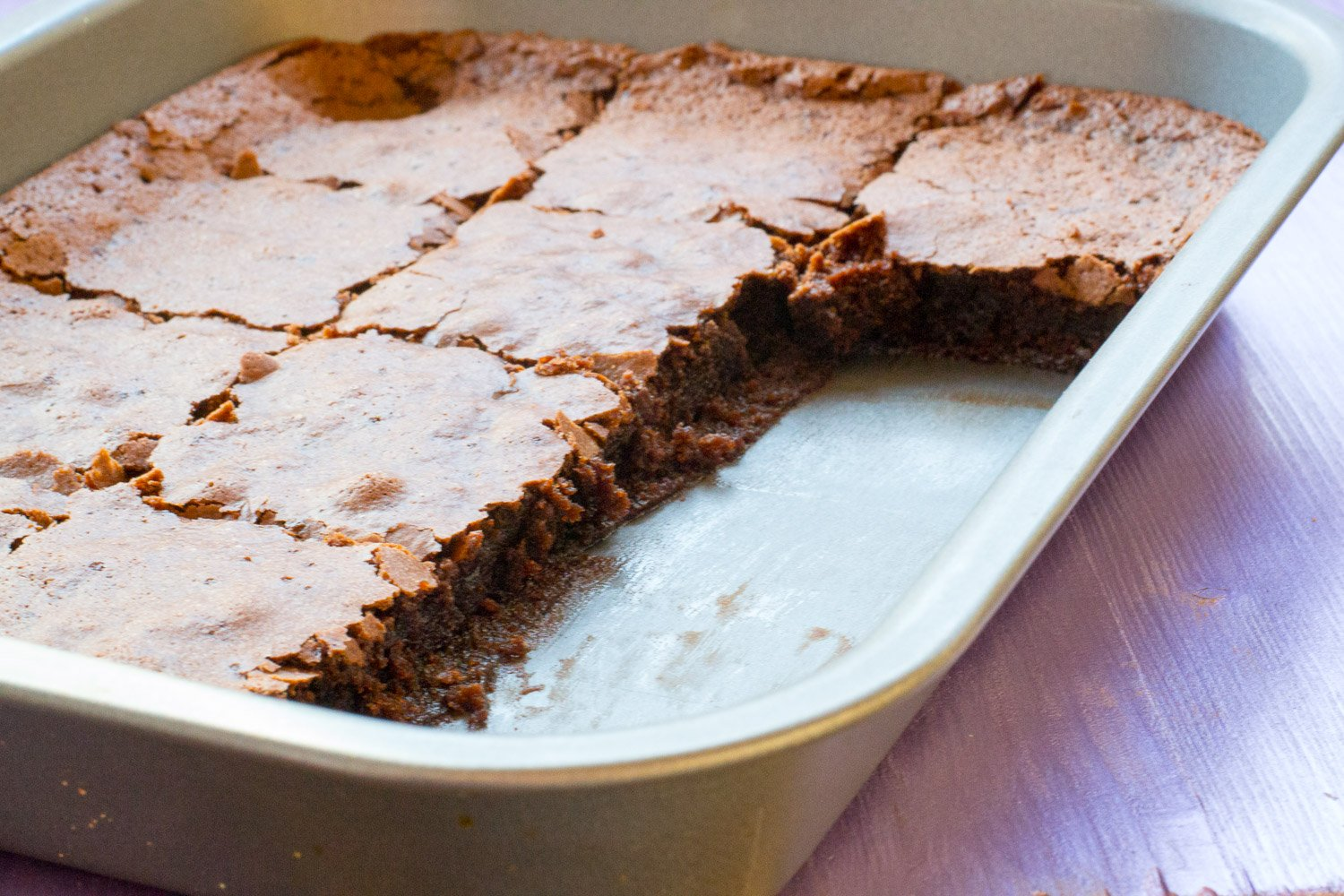 Vegan Betty Crocker brownies