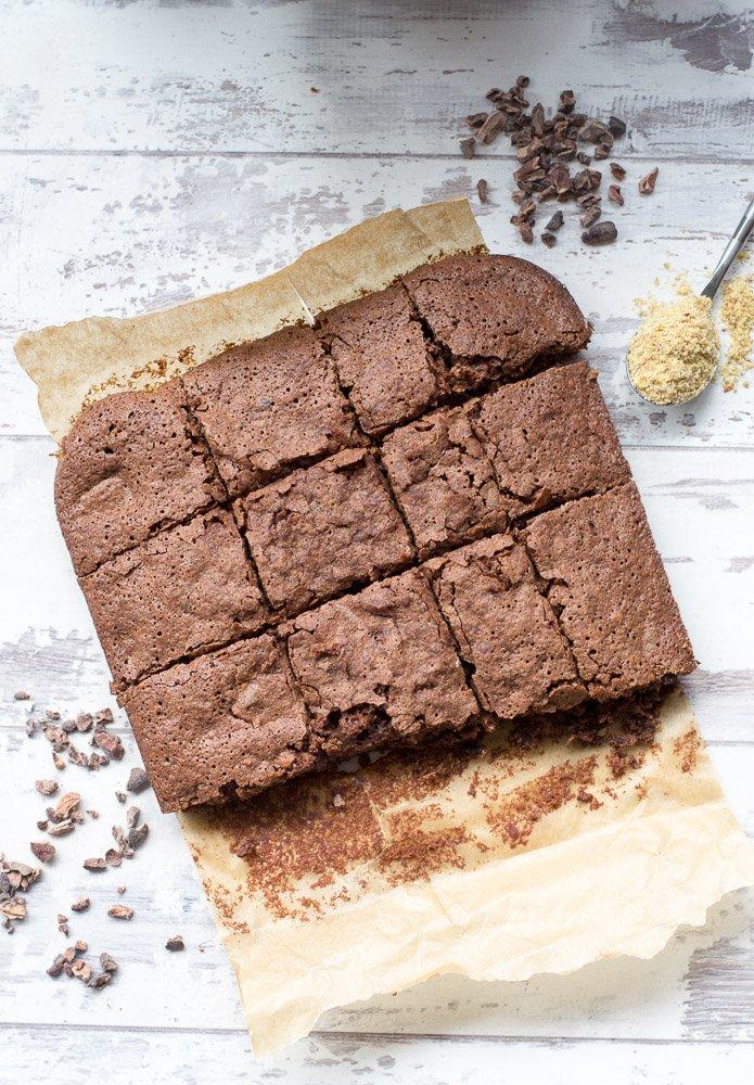Healthy Vegan Chocolate Brownies Recipe Planet Veggie