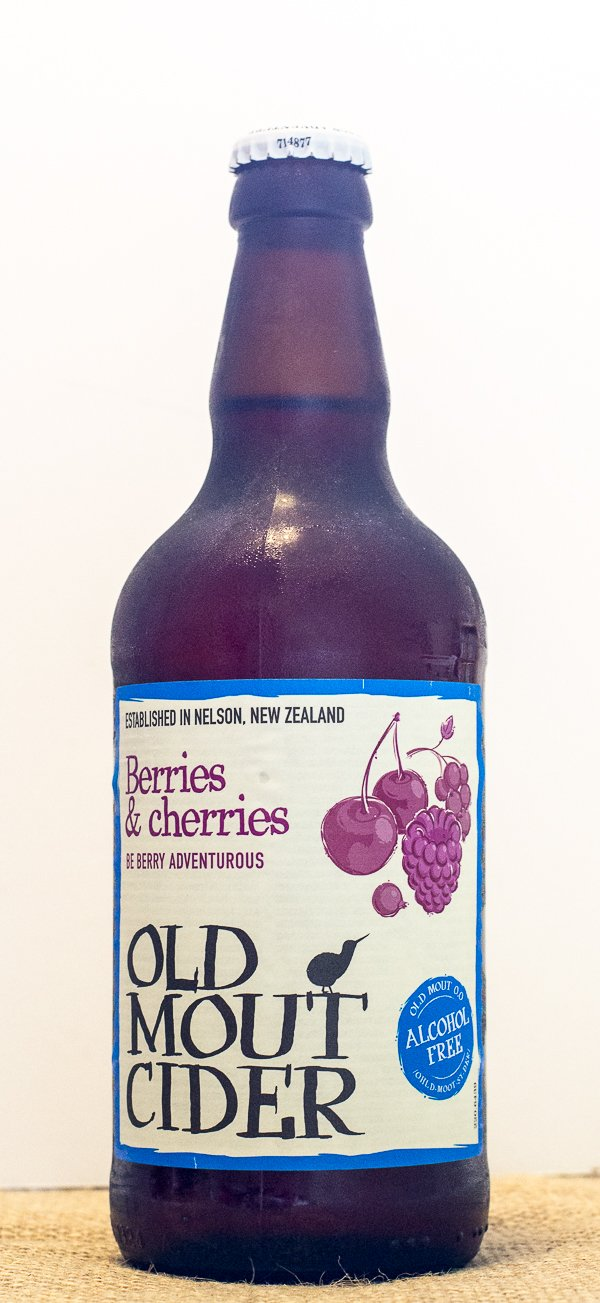 Old Mout Berries & Cherries Alcohol-Free Cider