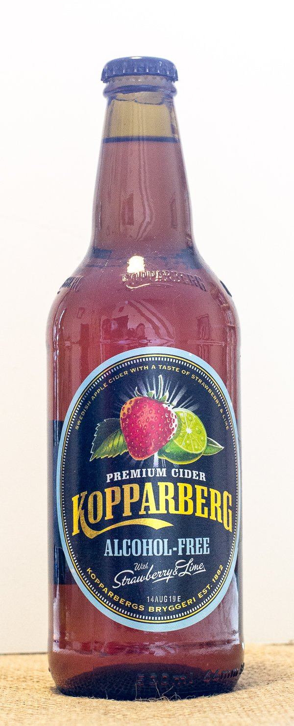 Kopparberg Strawberry & Lime Alcohol-Free Cider