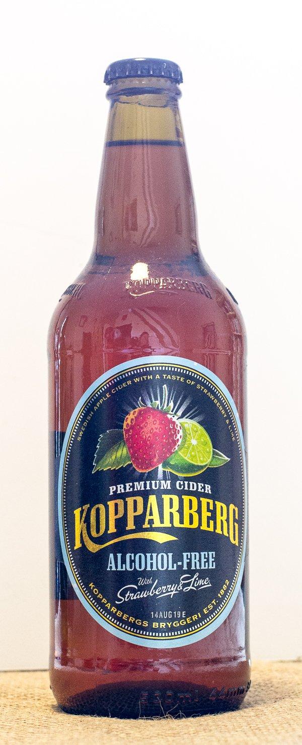 Kopparberg Strawberry & Lime Alcohol-Free Cider