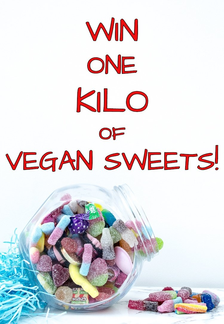 win a kilo of vegan sweets from the Vegan Candy Co
