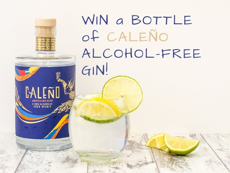 win a bottle of caleno alcohol-free gin